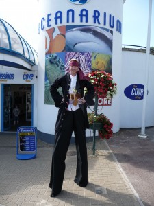Jules the Entertainer as in full Pirate Dress